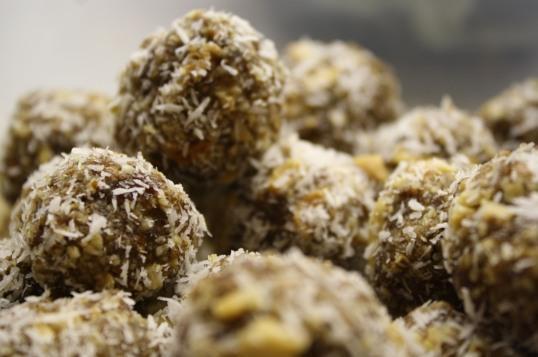 Heathy Nutty Balls