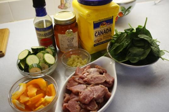 get ingredients together